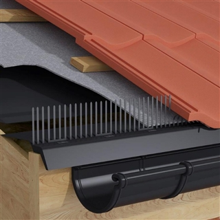 Timloc Over Fascia Vent System 900mm Long with Comb