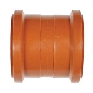 Polypipe Underground Drain 160mm Coupler Double Socket UG602