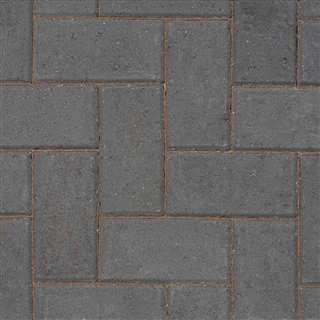 Block Paving 60mm Charcoal
