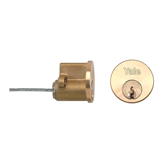 Yale P1109 Replacement Cylinder To Differ Polished Brass