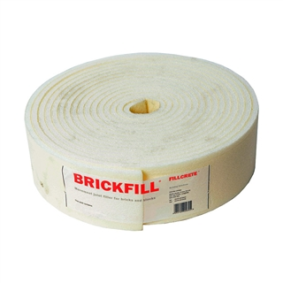 Brickfill 12mm x 100mm Closed Cell Polyethene Expansion Joint 10m Roll