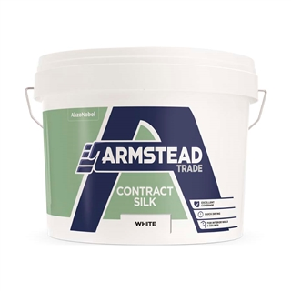 Armstead Trade Contract Emulsion Silk White 10 Litre