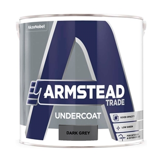 Armstead Trade Undercoat Dark Grey 2.5 Litre