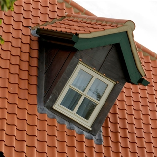 Goxhill Old English Clay Pantiles Natural Red
