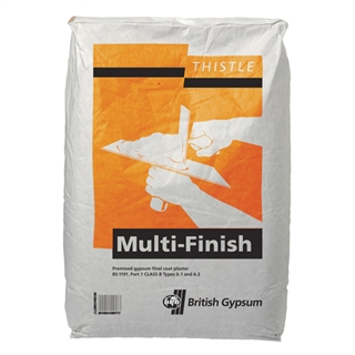 Thistle Multi Finish Plaster 25kg Bag