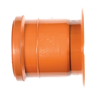 Polypipe Underground Drain 110mm Clay to Cast Iron Adapter Socket UG464
