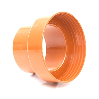 Polypipe Underground Drain 160mm Clay to Cast Iron Adapter Spigot UG663