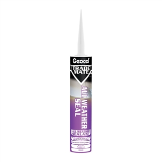 Geocel Trade Mate All Weather Seal 310ml Cartridge Clear