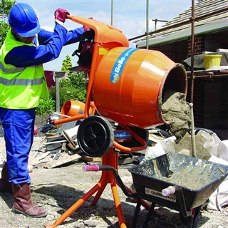Belle Minimix 150 Concrete Mixer 110V with Stand