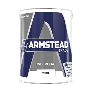 Armstead Trade Undercoat White 5 Litre