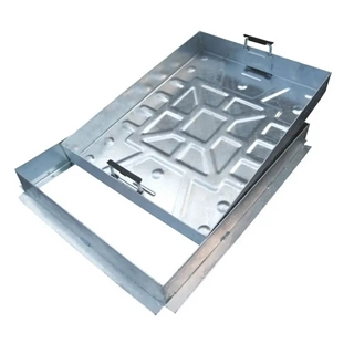 Manhole Cover & Frame Block Pavior 600mm x 600mm Recessed 10 Tonne