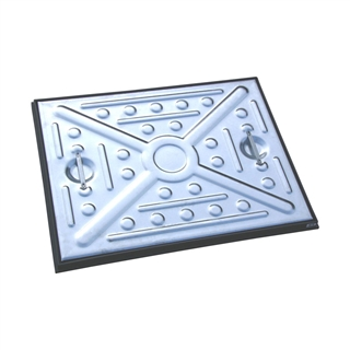 2.5 Tonne Single Seal Manhole Cover and Frame 600mm x 450mm x 25mm Depth