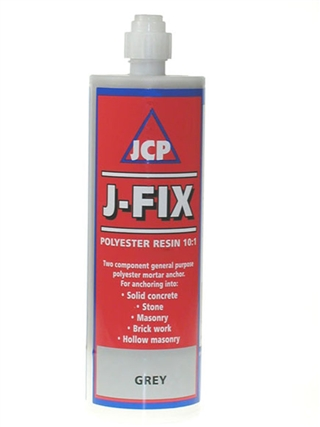 JCP Grey Polyester Resin Fixing 150ml