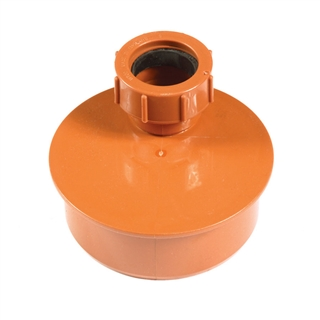 Polypipe Underground Drain 110mm Waste Adapter 32mm UG455