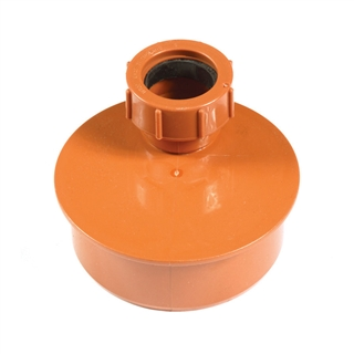 Polypipe Underground Drain 110mm Waste Adapter 50mm UG457