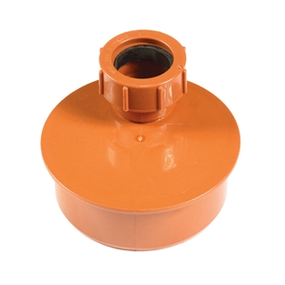 Polypipe Underground Drain 110mm Waste Adapter 40/40mm UG492