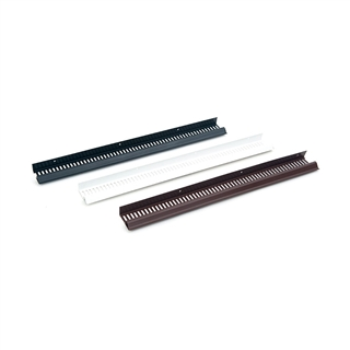 Timloc 1137 Soffit Vent Type C Brown 10mm Airflow