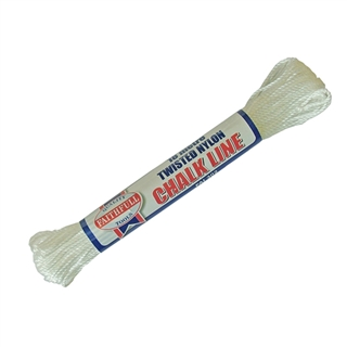Faithfull 302 Twisted Nylon Chalk Line 18m (Box of 12)