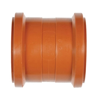 Polypipe Underground Drain 110mm Double Socket UG402