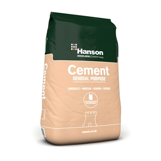 Hanson OPC Ordinary Portland Cement 25kg