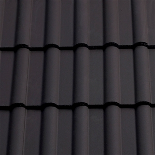 Sandtoft Double Roman Roof Tile Slate Grey