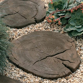 Timberstone Stepping Stone Coppice Brown