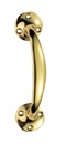 Victorian Bow Handle Brass image 0