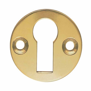 Victorian Open & Closed Escutcheon Brass