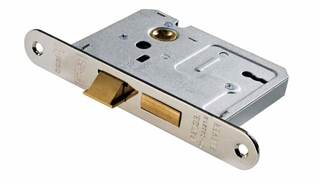 "Easi-T Contract Lock 3 Lever 2½"" Brass"