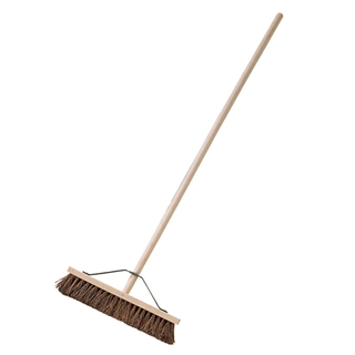 Pathway Bassine Broom with Stayed Handle 24""