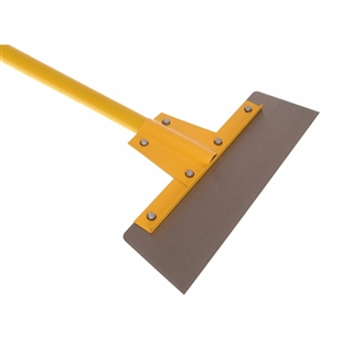 "Faithfull Floor Scraper 400mm 16"" Heavy Duty Fibreglass Handle"