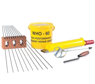 Ancon Staifix Thor Helical Crack Stitching Kit (6 Piece Kit)