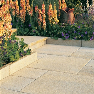 Rio Paving Edging/Coping 600mm x 136mm x 50mm Sand