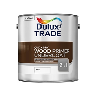 Dulux Trade Quick Drying Wood Primer Undercoat 1 Litre