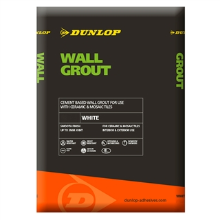 Dunlop Wall Grout White 2kg