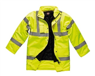 Dickies Hi-Vis Motorway Jacket Size M