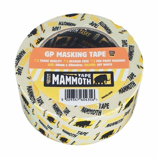 Everbuild General Purpose Masking Tape 50mm
