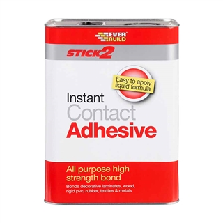 Everbuild Stick 2 All Purpose Contact Adhesive 5 Litre