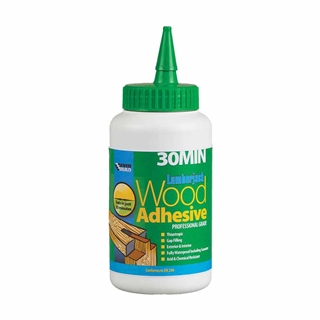 Everbuild 30 Minute Polyurethane Wood Adhesive Liquid 750ml