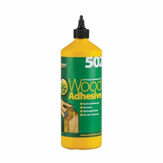 Everbuild 502 Wood Adhesive 1 Litre
