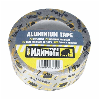 Everbuild Mammoth Aluminium Tape 50mm x 45m