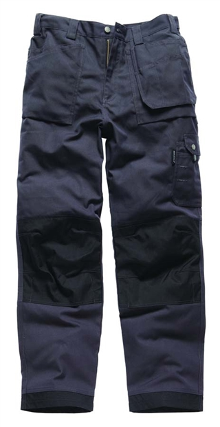 "Dickies Eisenhower Multi Pocket Trousers Black 34"" Regular"