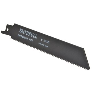 Faithfull Sabre Saw Blades Wood S811H (Pack of 5)