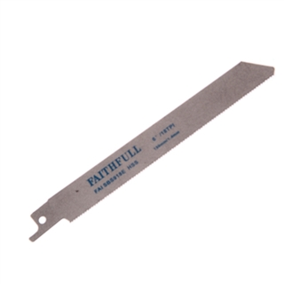 Faithfull Sabre Saw Blades Metal S918E (Pack of 5)