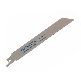 Faithfull Sabre Saw Blades Metal S922BF (Pack of 5)