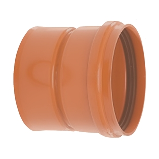 Polypipe Polysewer 150mm Double Socket to EN1401-1 Pipe (160mm) PS689