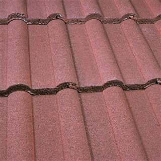Marley Double Roman Tile Dark Red