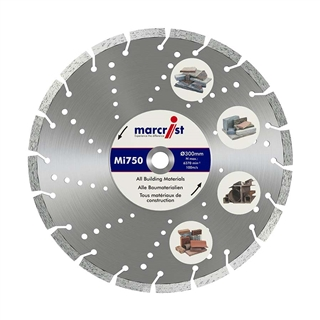 Marcrist Mi750 Diamond Blade 300mm x 20mm