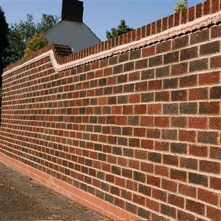 73mm Ibstock Anglian Ruskin Multi Facing Brick