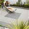 Argent Paving 600mm x 600mm x 38mm Smooth Dark image 1